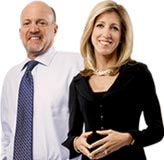 Jim Cramer and Stephanie Link