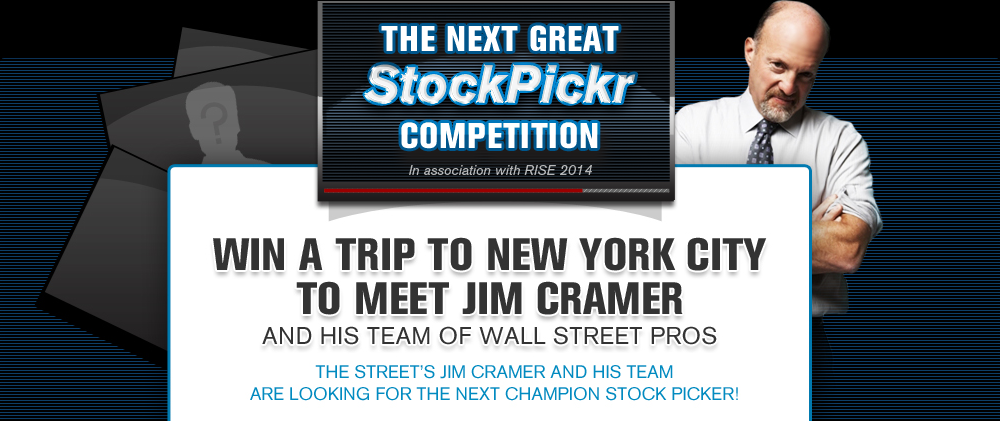 Win A Trip to New York City To Meet Jim Cramer and his Team of Wall Street Pros